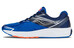 saucony Ride 9 Running Shoes Men Grey/Blue/Orange
